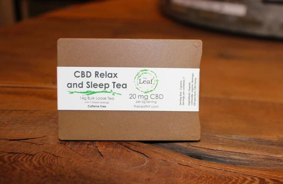 The Leaf NY CBD Relax and Sleep Tea