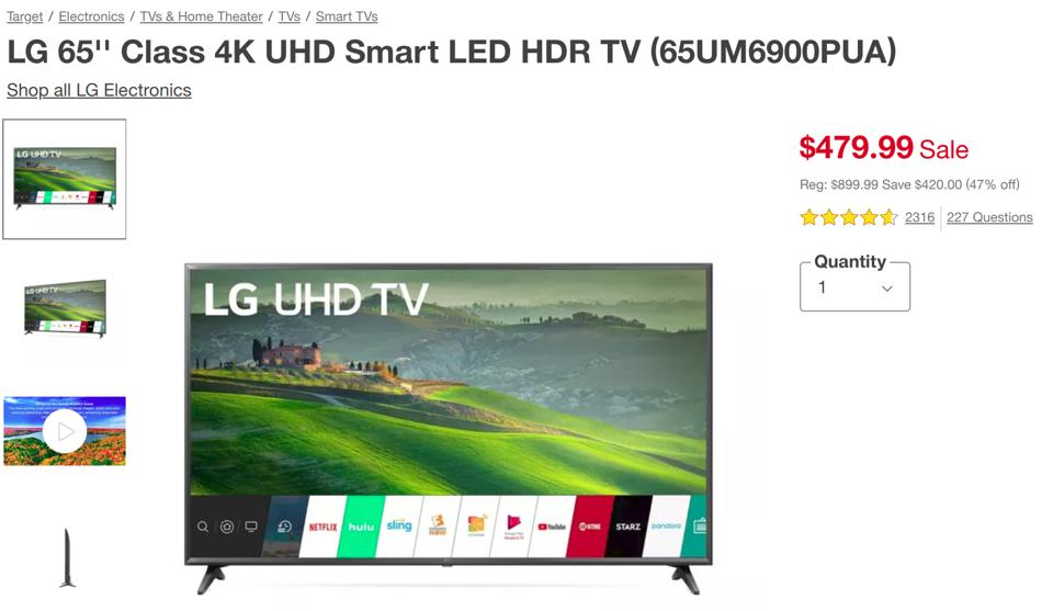 Target Black Friday TV deals, Target Black Friday TV sales, Target Black Friday sales,
