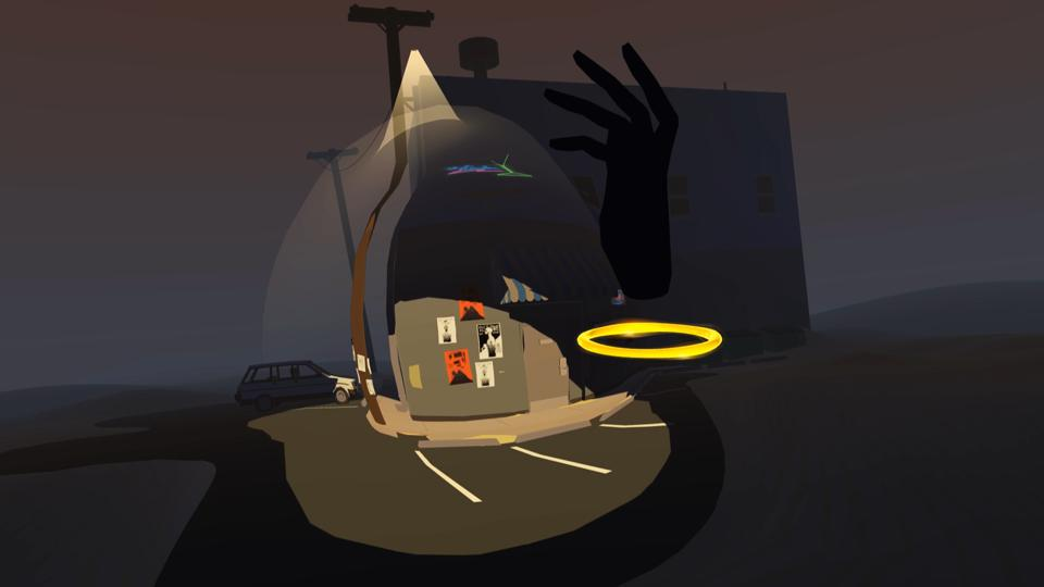 The ″scrunch″ locomotion mechanic is a new take on teleporting