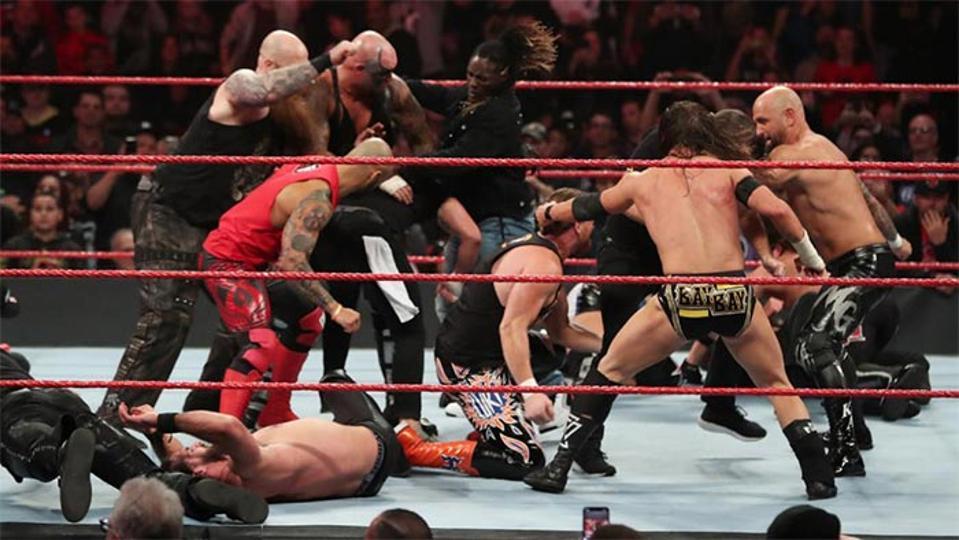 WWE Raw SmackDown NXT Triple H Survivor Series