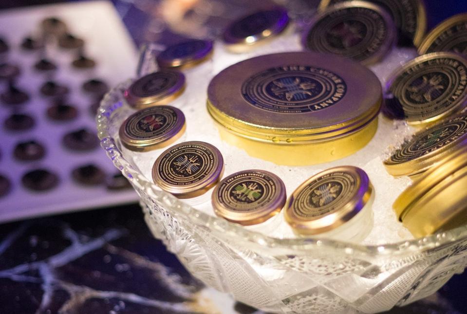 The Caviar Co. tins