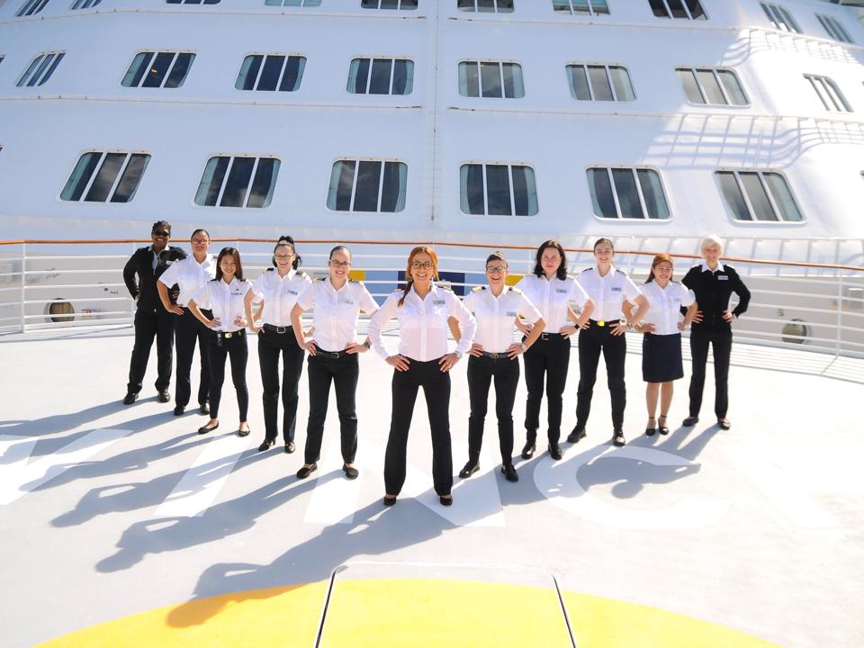 This Cruise Line Is Making History With The First Women-Led Cruise