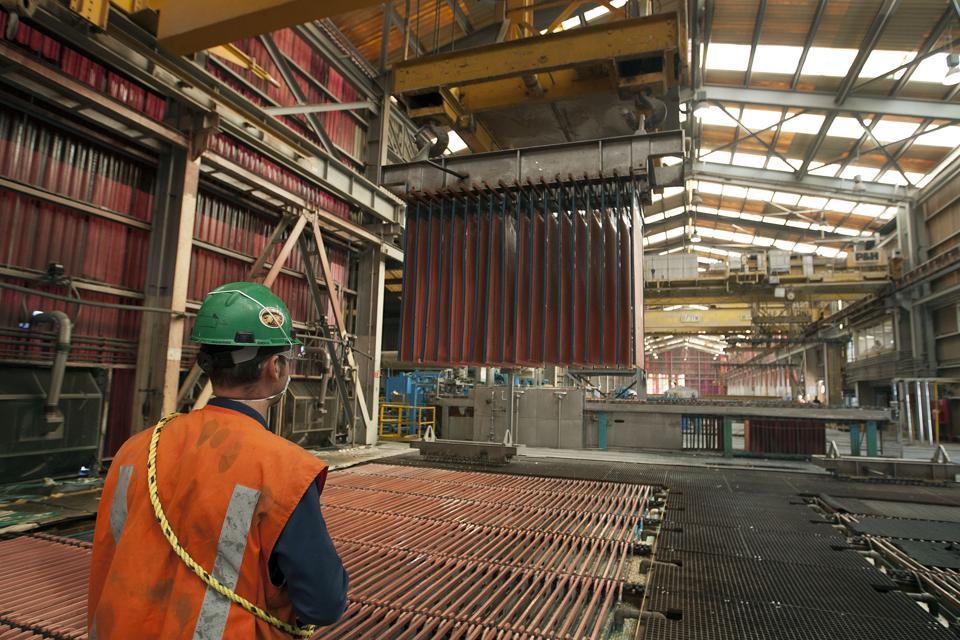 Operations At Grupo Mexico's La Caridad Copper Mine