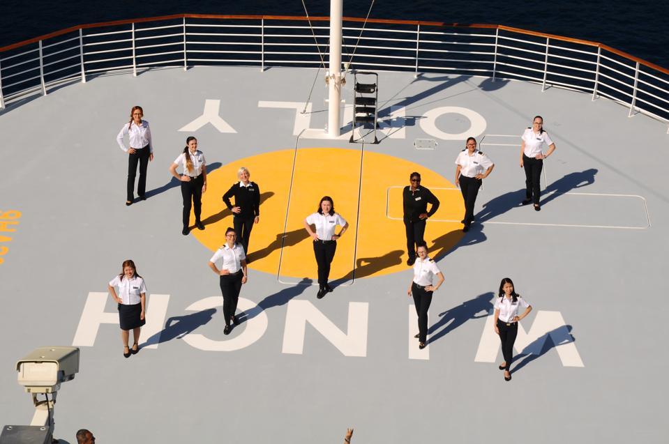 Celebrity Cruise Line women crew