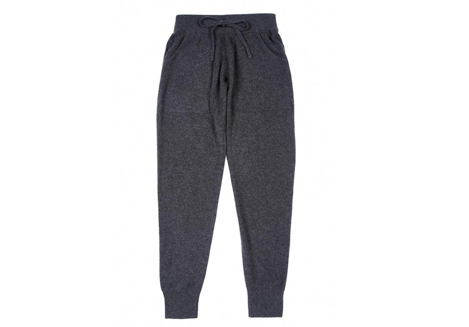 White + Warren cashmere pants