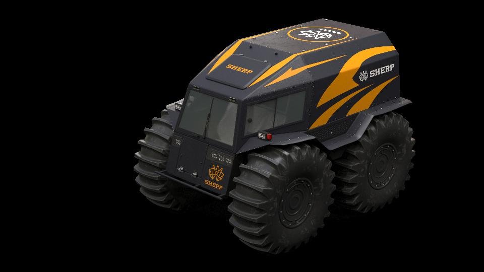The SHERP ATV is a ″must have″ for every billionaire superyacht owner on your holiday gift list!