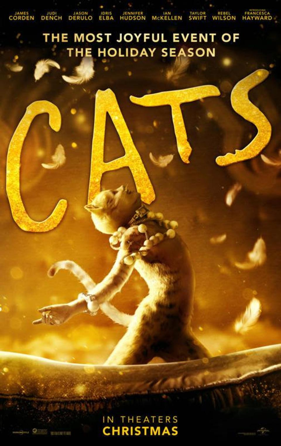 'Cats' poster