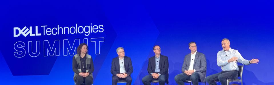 Panel discussion at Dell Technology Summit.