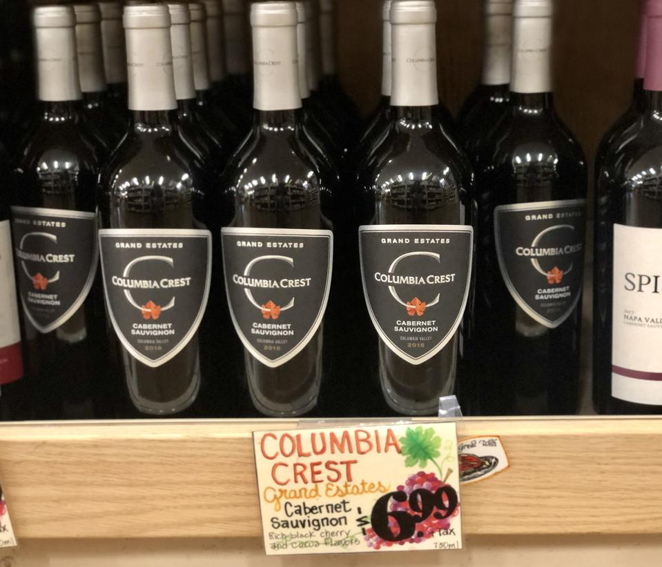 Columbia Crest Grand Estate Cabernet