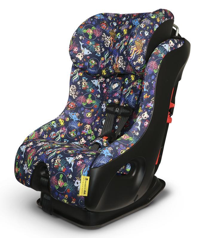 Tokidoki For Clek Fllo Convertible Car Seat in Reef Rider