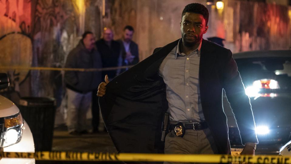 Chadwick Boseman in '21 Bridges'