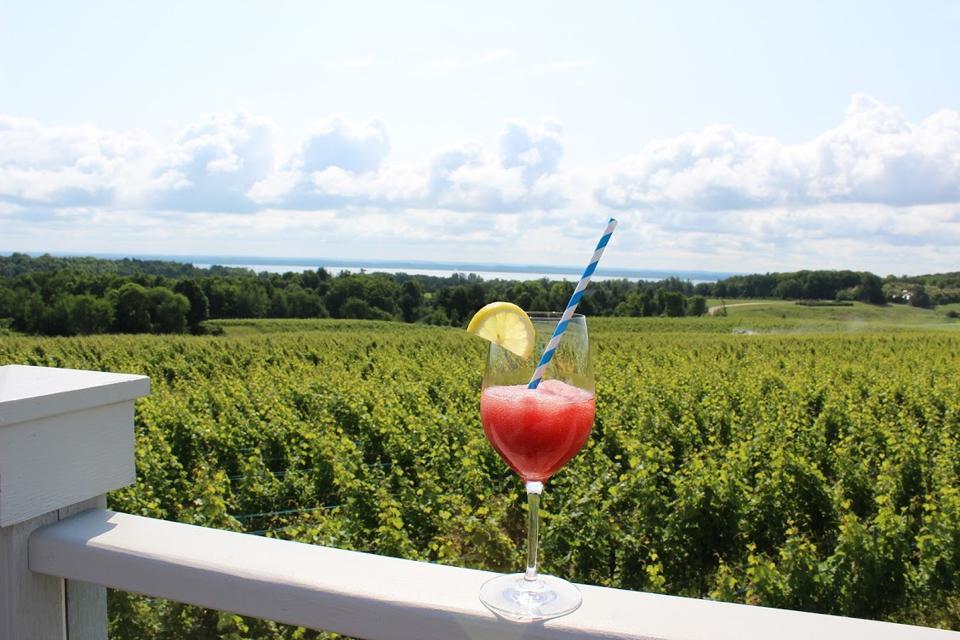 Just beyond the vineyards lies the Secret Garden at Brys Estate.