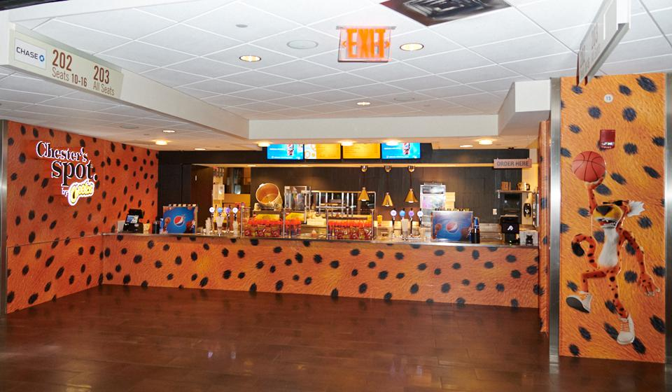 First Ever Cheetos Concession Stand