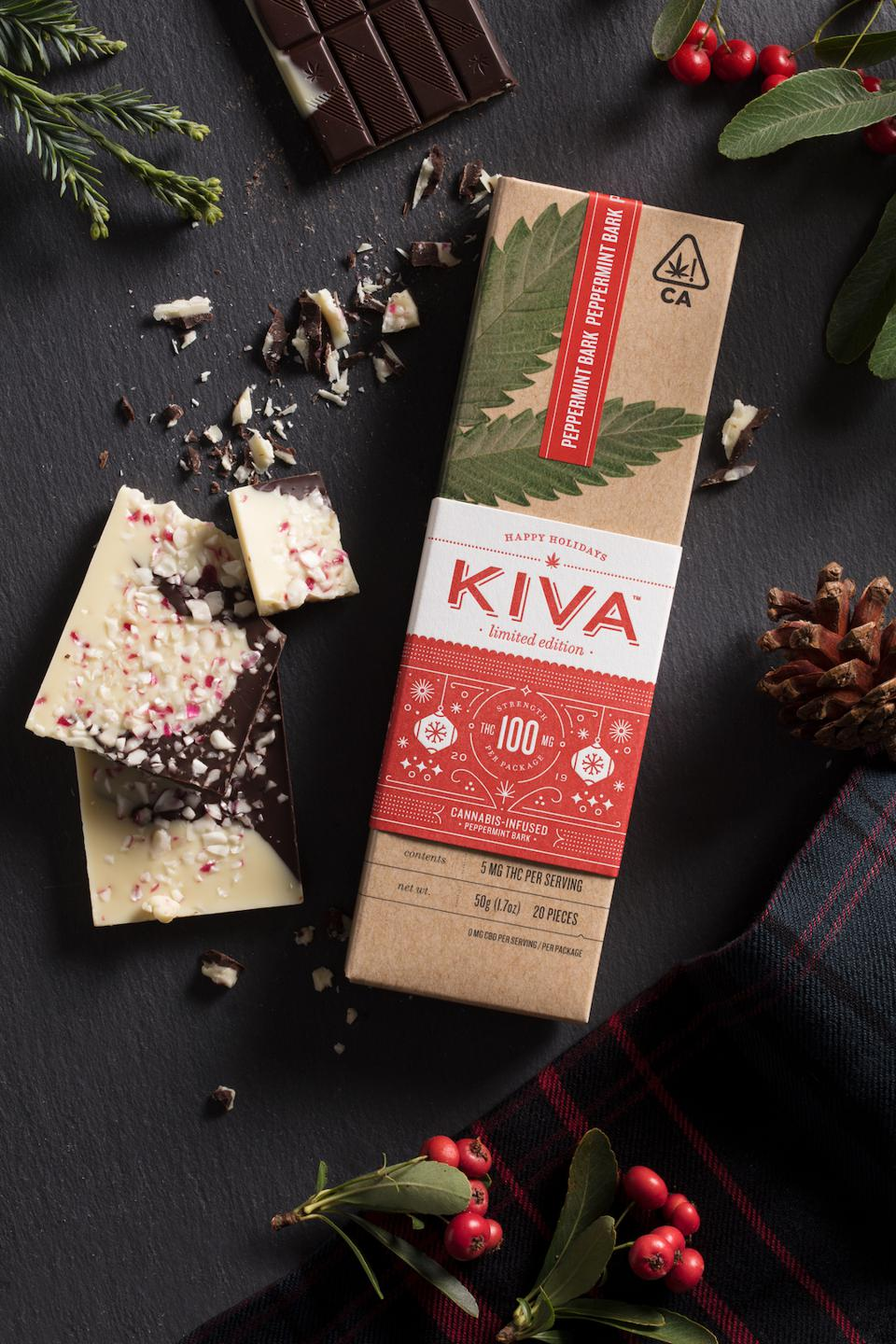Kiva Confections, edibles, cannabis chocolate, cannabis gifts