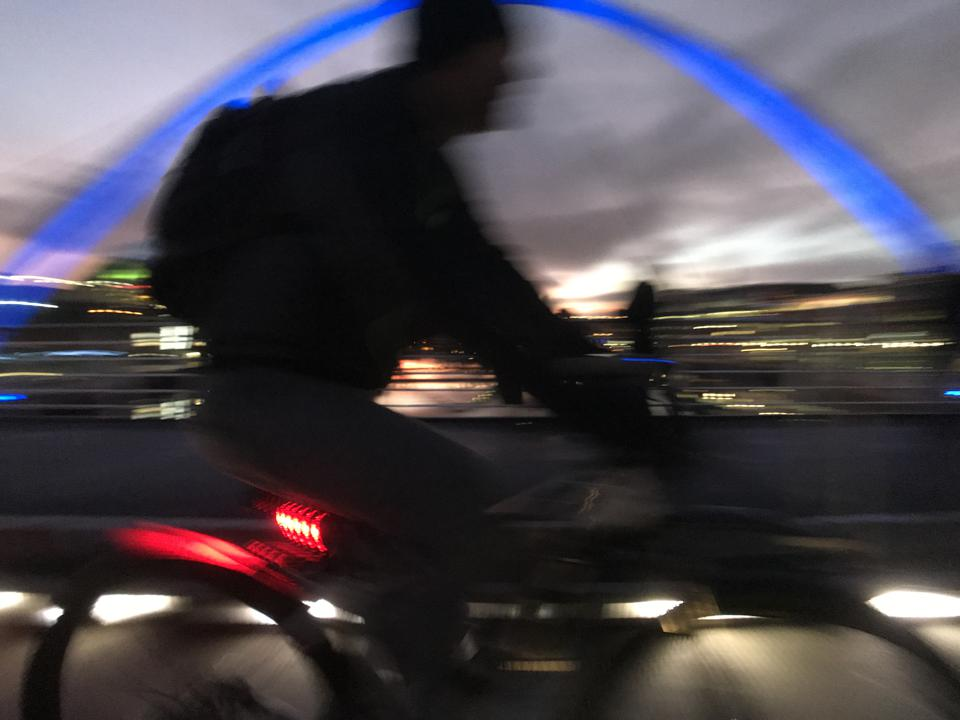 Newcastle's Millennium Bridge.
