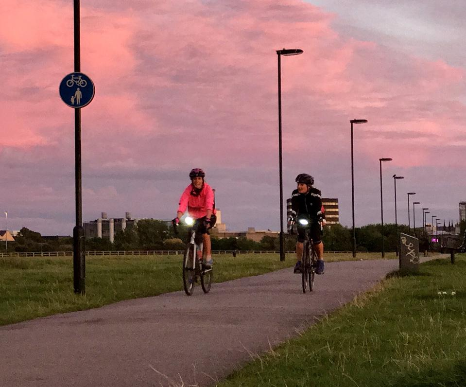 Town Moor cycling