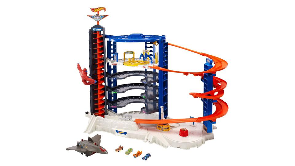 Hot Wheels Super Ultimate Garage Playset on a white background.