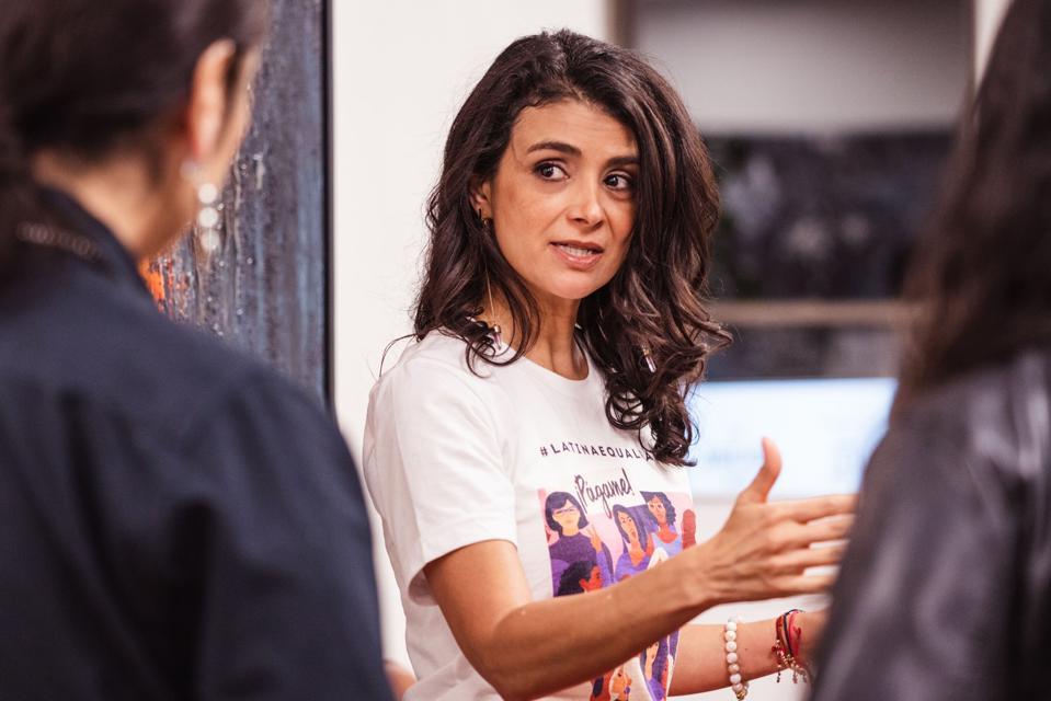 Ana Flores the founder of #WeAllGrow Latina