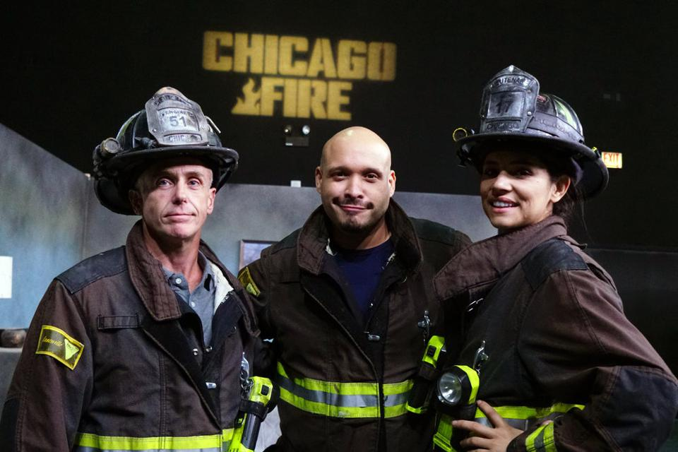 As Firefighter Stella Kidd Miranda Rae Mayo Loves Feeling The
