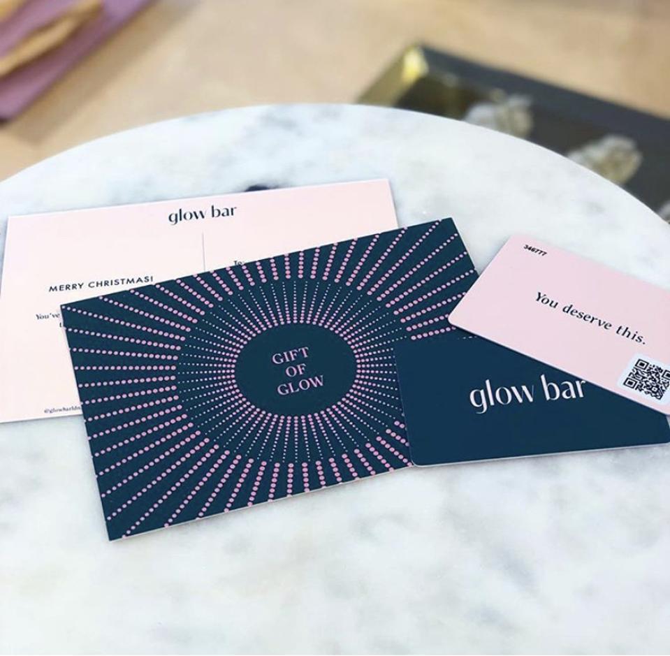 Sauna gift card by Glow Bar