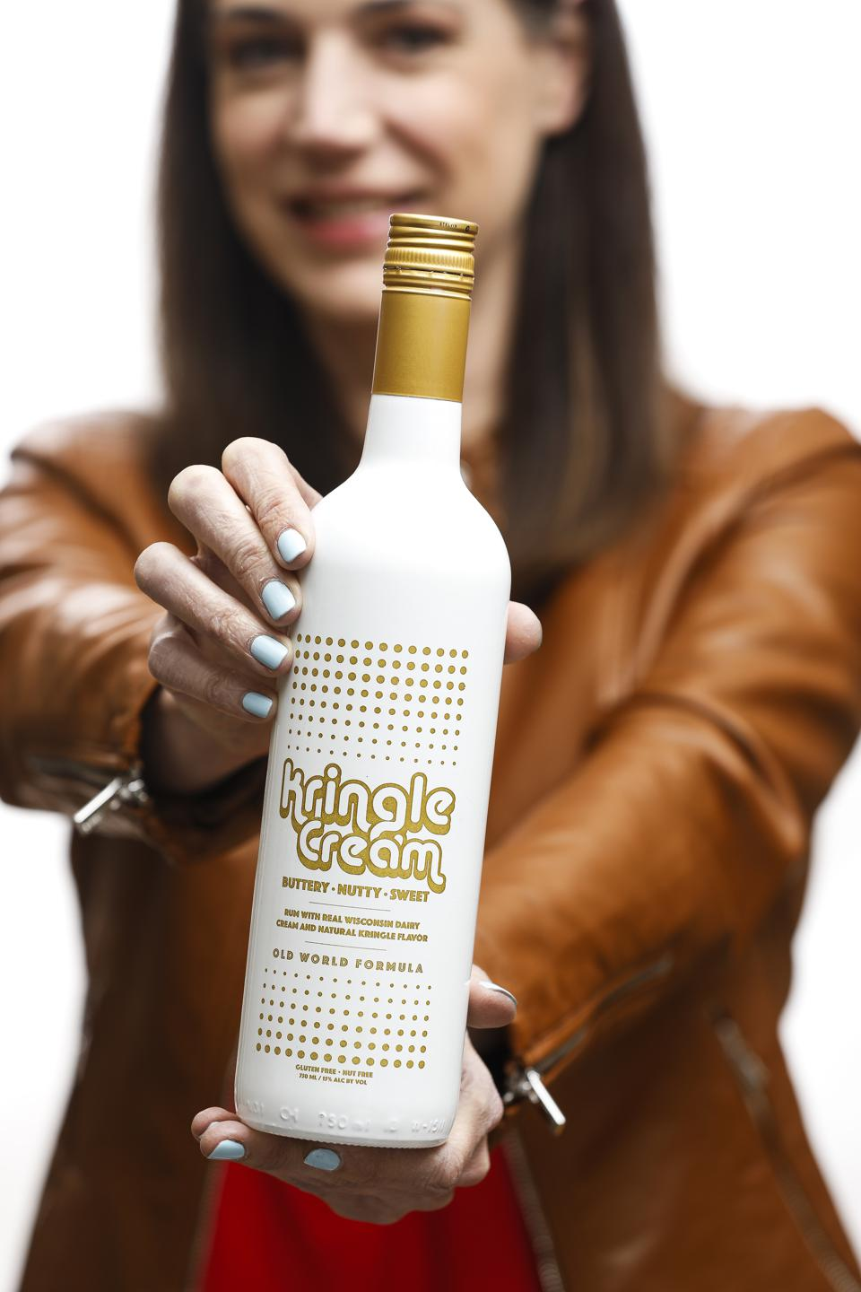Kringle Cream is a liqueur made in Wisconsin.