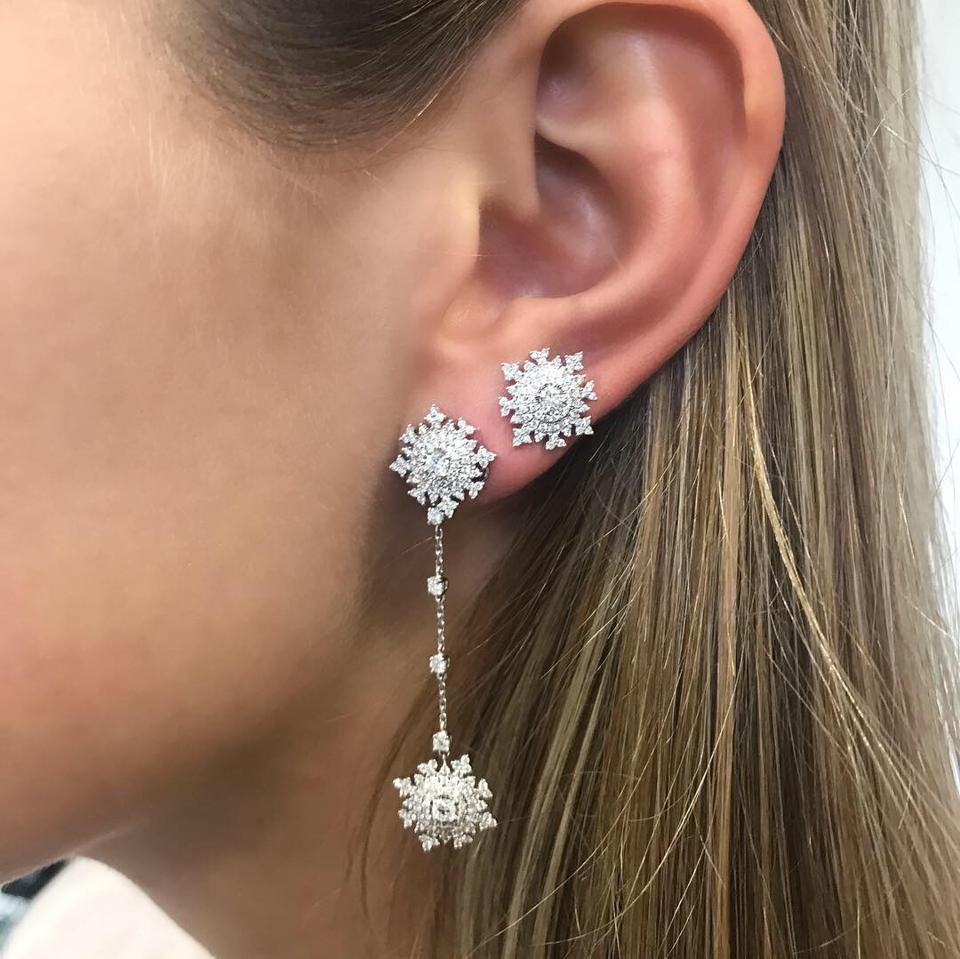 London-based jewelry designer Nadine Aysoy sells her natural diamond jewelry at Just One Eye, Harvey Nichols and other upmarket retailers around the world.