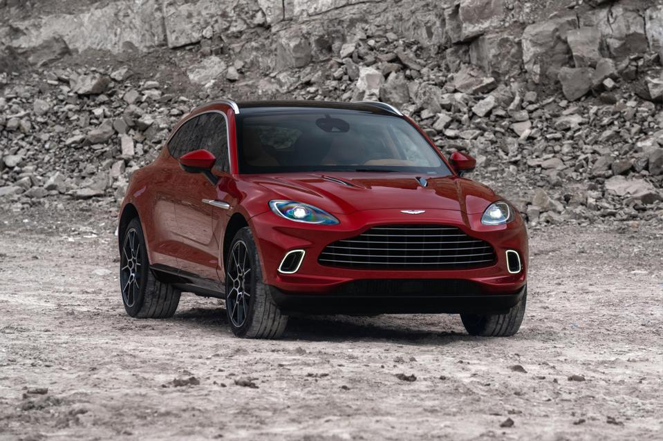 Aston Martin S 190 000 Suv Could Be A Make Or Break Gamble