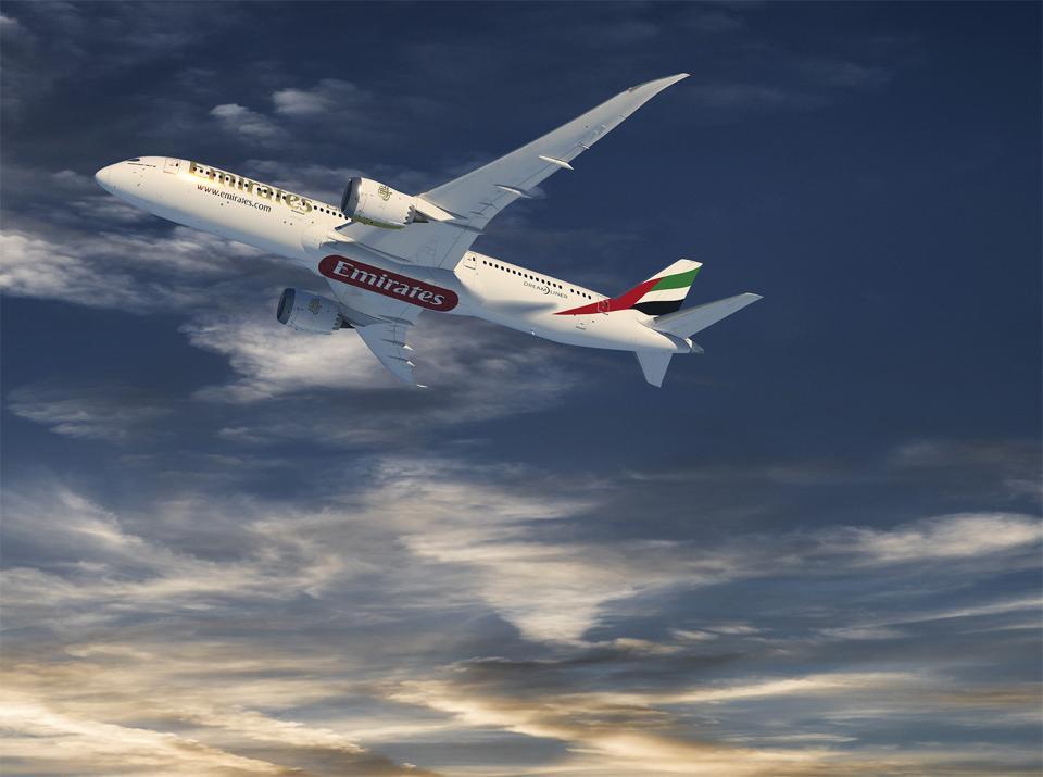 Emirates Boeing 787 Dreamliner
