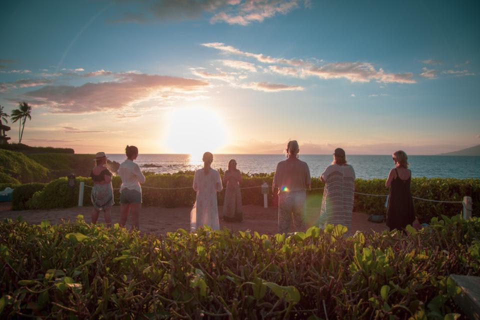 Shift Wellness retreat at The Four Seasons Maui.