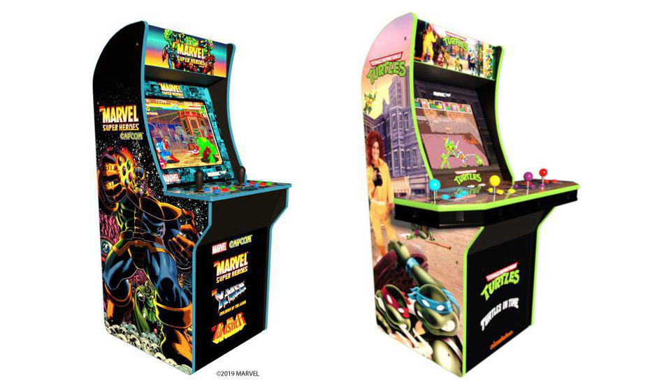 New Arcade1Up Cabinets