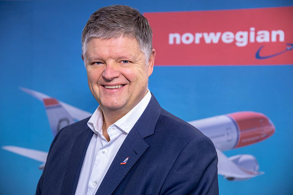 Jacob Schram has been unveiled as the new CEO at Norwegian Air