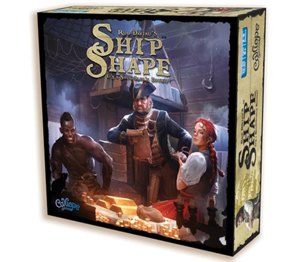 Ship Shape board game