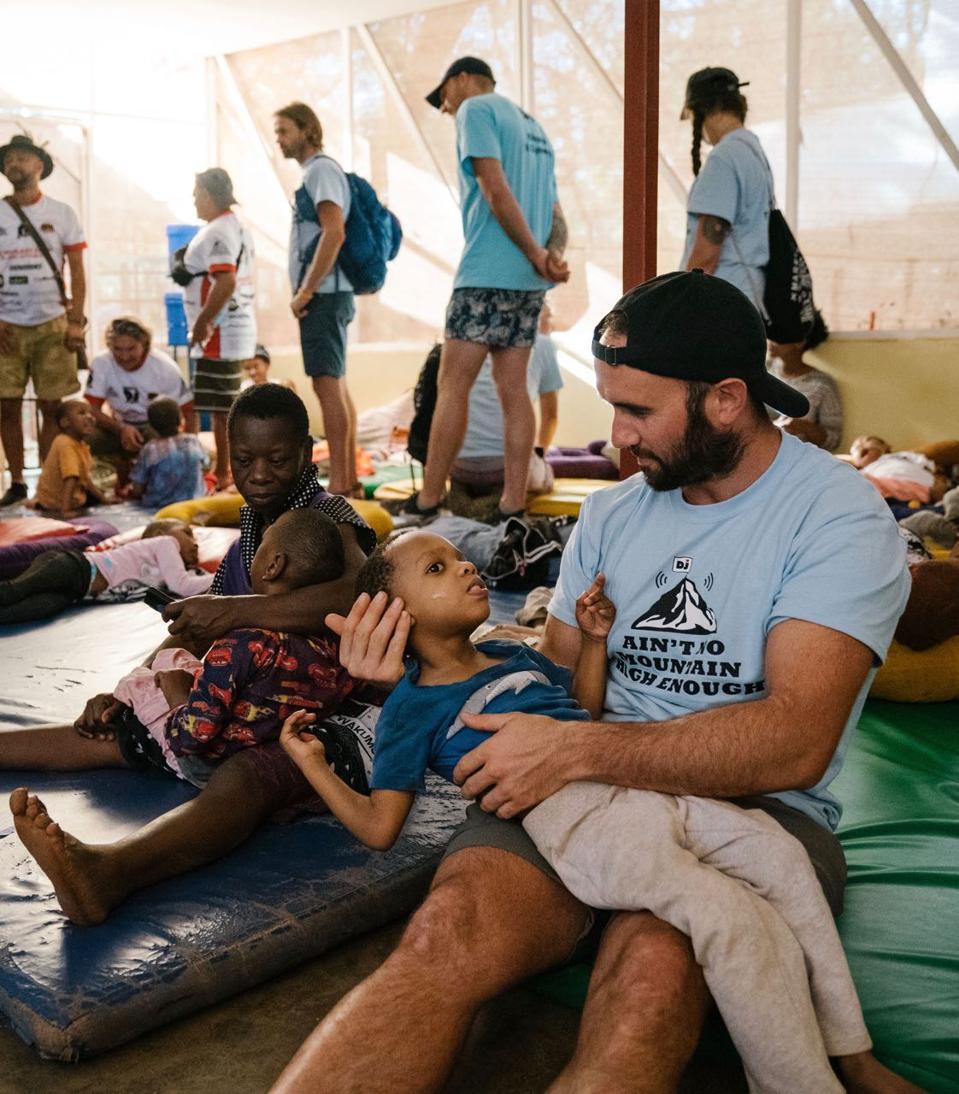 Children's home in Africa.