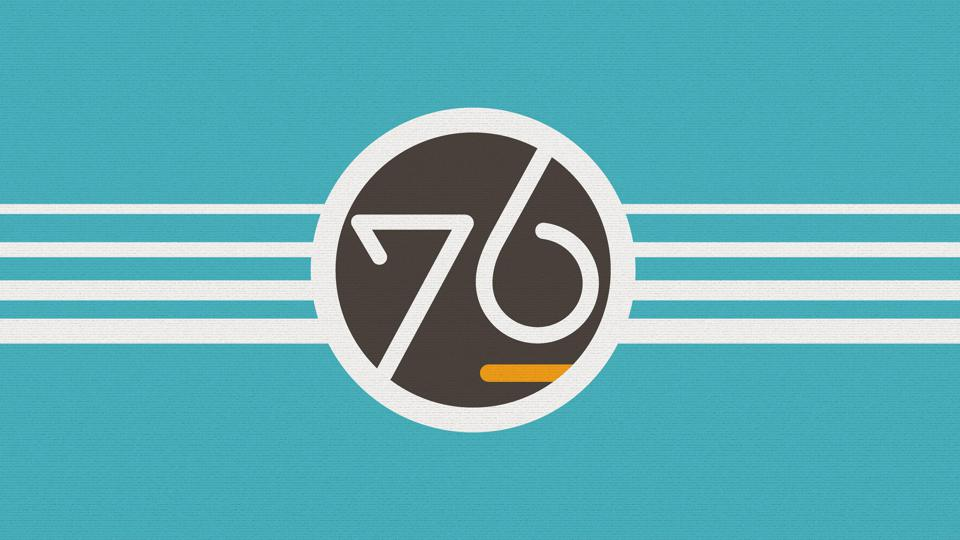 System76 wallpaper featured on Linux distribution Pop!_OS