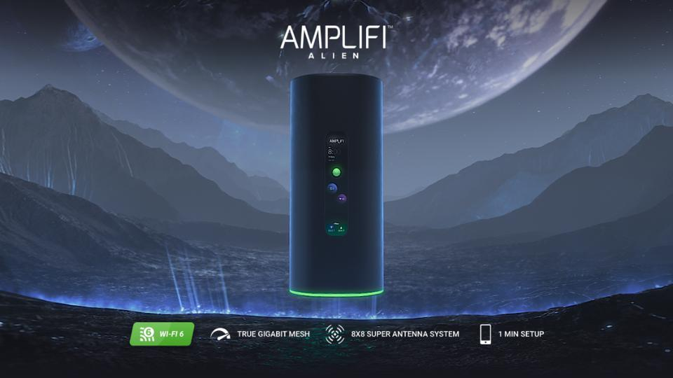 Amplifi Alien Proves There's Intelligent Life In The Wireless Universe