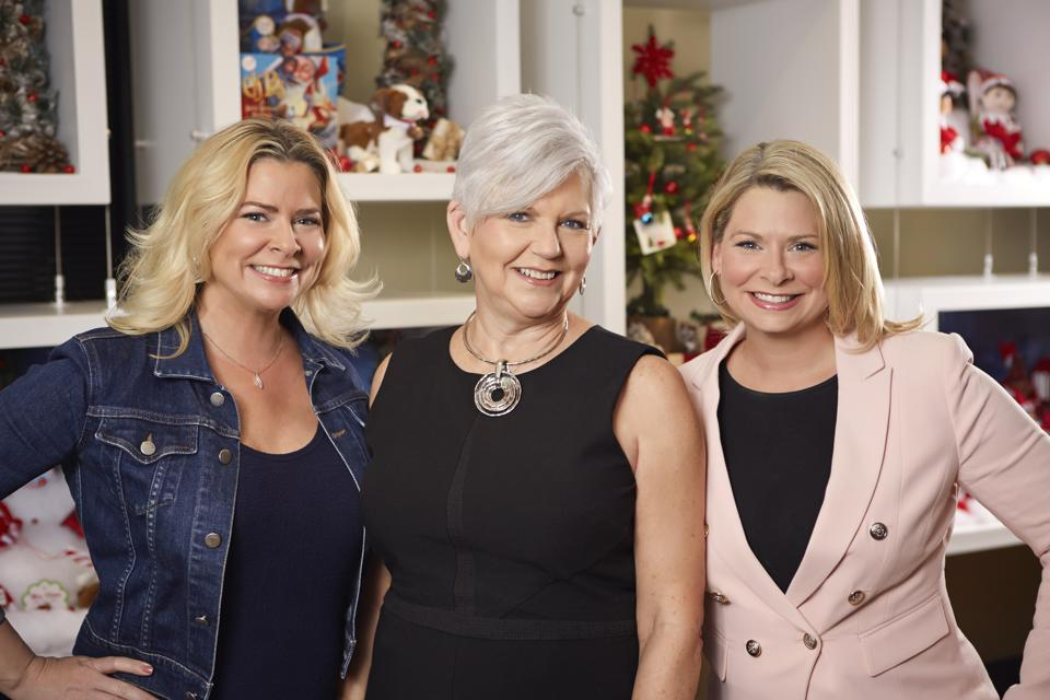 Christa Pitts, Carol Aebersold and Chanda Bell