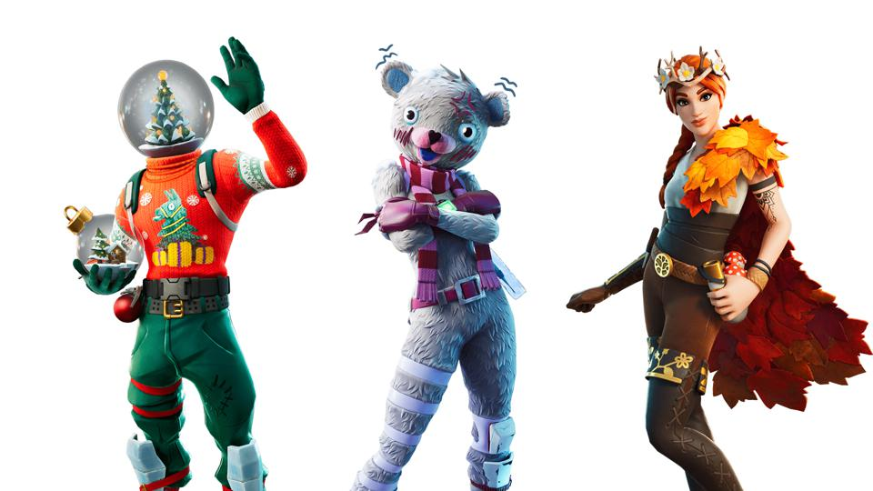Here Are The First Leaked Fortnite Christmas Skins For