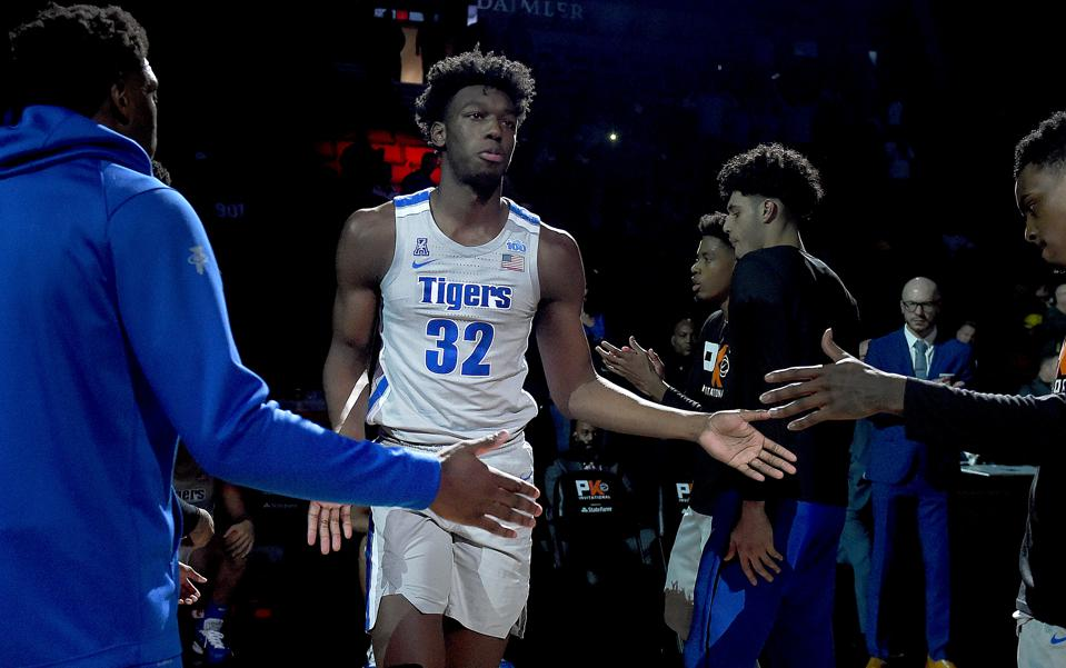 Memphis' Odds To Win NCAA Title Jump After James Wiseman Cleared To Compete Jan. 12