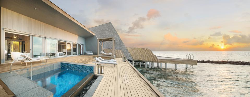 Luxury Travel Report: This Maldives Resort Combines Local Culture With Nature For An Upscale Stay