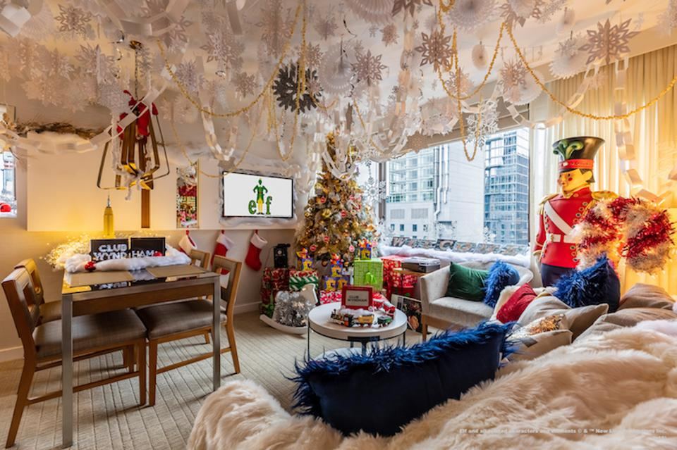 This Holiday Season, Stay in an 'Elf'-Themed Suite in New York City