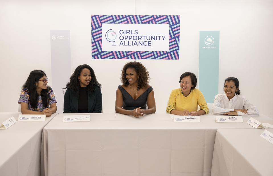 GOA roundtable with Michelle Obama at the Obama Foundation Summit