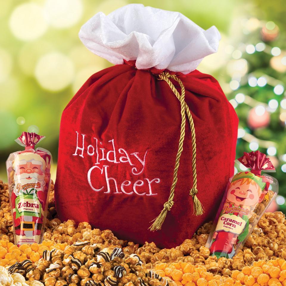 Holiday Cheer Santa Sack