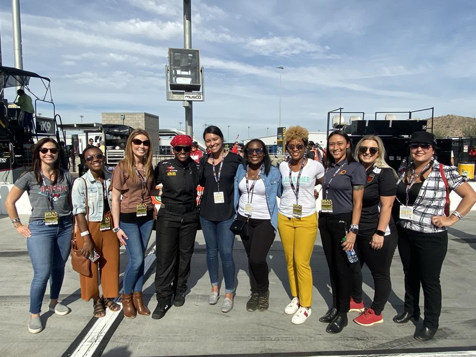 NASCAR, GladiatHers®, Women in Sports, Women in NASCAR, Phoenix, ISM Raceway, Racing