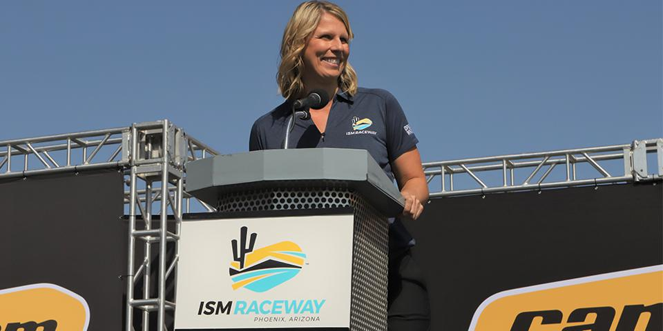 Julie Giese, ISM Raceway, NASCAR, racing, Arizona
