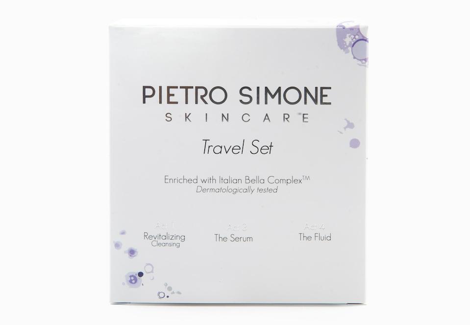 Pietro Simone Skincare Travel Set