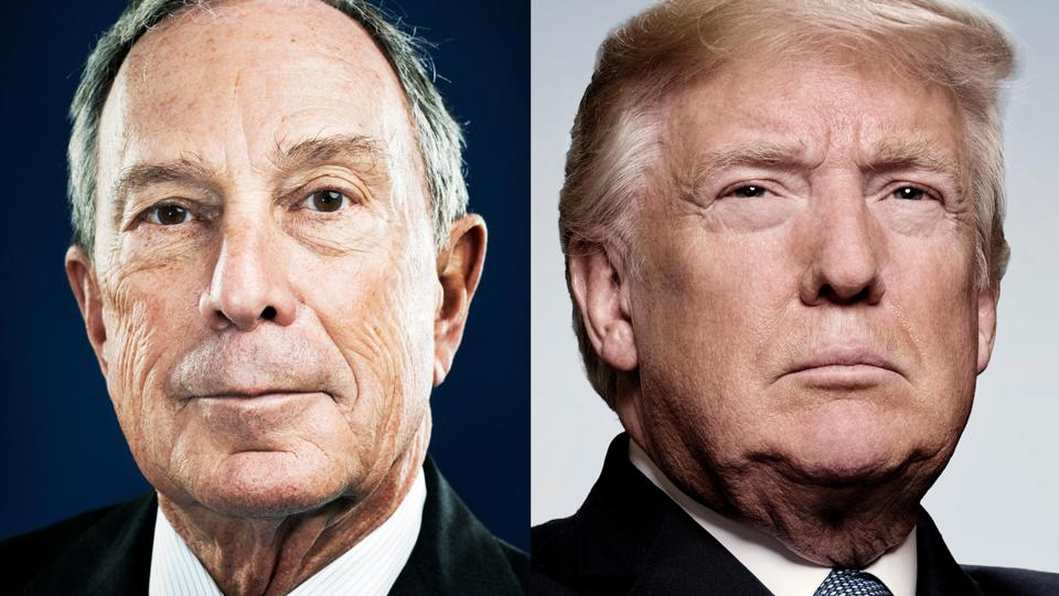 Here's Why Michael Bloomberg Is 17 Times Richer Than Donald Trump