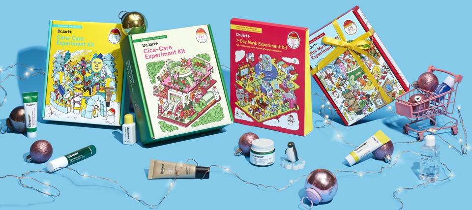 Dr. Jart+ Holiday Experiment Kits