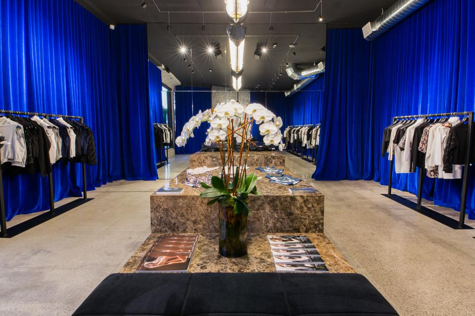 Inside of MARCELL VON BERLIN store in Los Angeles