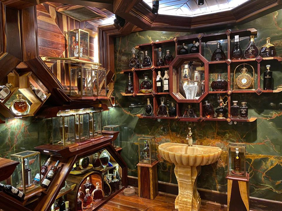 Record whisky collection