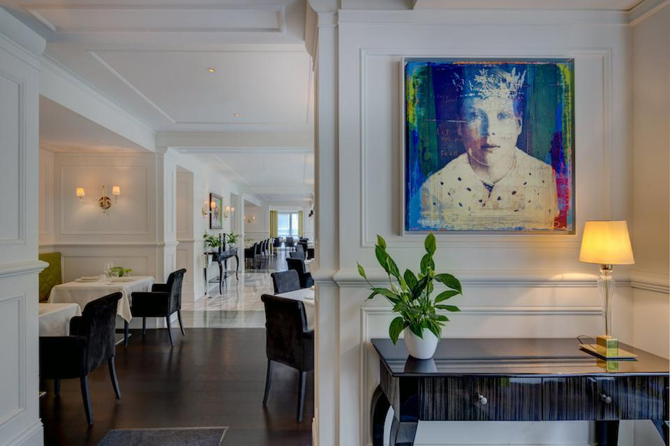 Edvard, the Michelin starred restaurant at Palais Hansen Kempinski